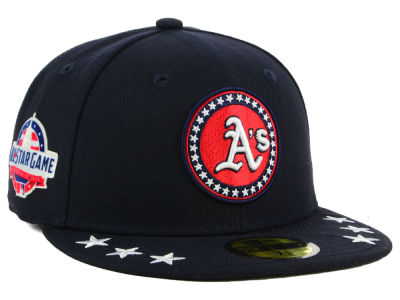 Oakland Athletics New Era 2018 MLB All Star Workout 59FIFTY Cap 947622ca413b