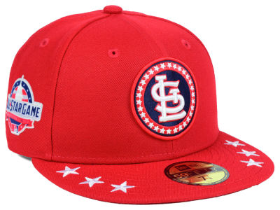 St. Louis Cardinals New Era 2018 MLB All Star Workout 59FIFTY Cap