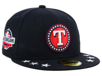 Texas Rangers New Era 2018 MLB All Star Workout 59FIFTY Cap