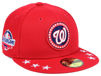 Washington Nationals New Era 2018 MLB All Star Workout 59FIFTY Cap