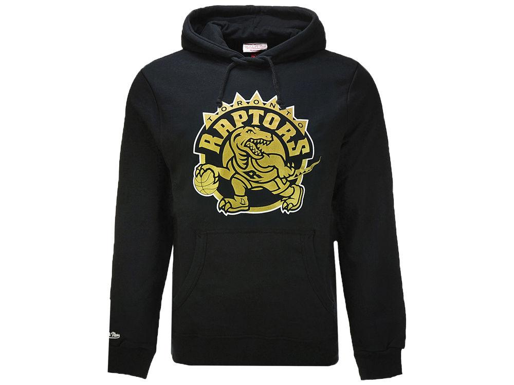 Hoodie Ness amp; Golden Toronto Raptors Mitchell Dino Nba Men's