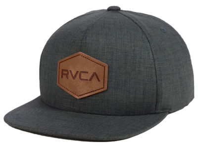 RVCA Youth Commonwealth Deluxe Snapback Cap