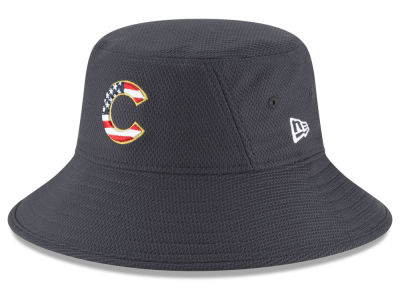 Chicago Cubs New Era 2018 MLB Stars and Stripes Bucket