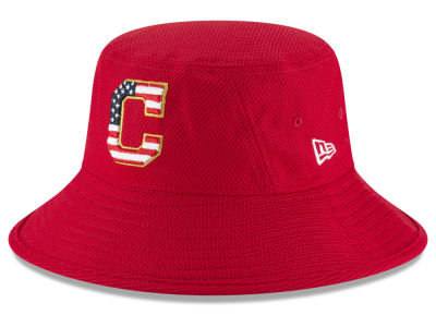 Cleveland Indians New Era 2018 MLB Stars and Stripes Bucket