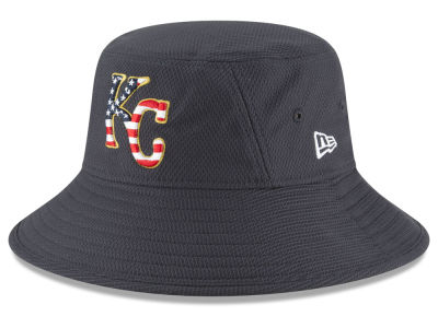 Kansas City Royals New Era 2018 MLB Stars and Stripes Bucket