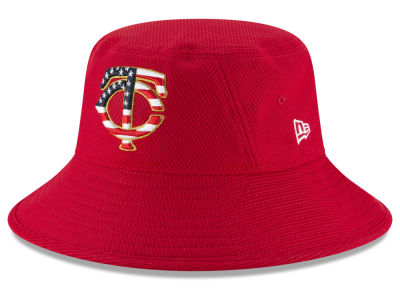 Minnesota Twins New Era 2018 MLB Stars and Stripes Bucket