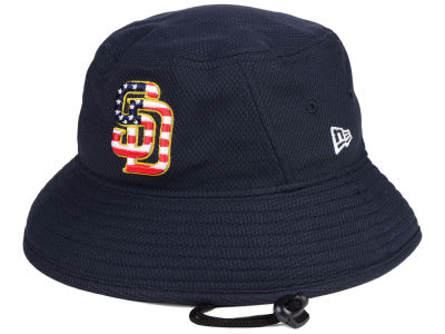 San Diego Padres New Era 2018 MLB Stars and Stripes Bucket