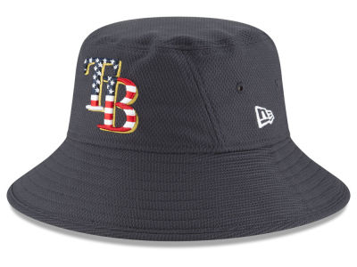 Tampa Bay Rays New Era 2018 MLB Stars and Stripes Bucket