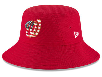 Washington Nationals New Era 2018 MLB Stars and Stripes Bucket