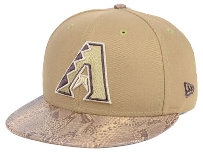 Arizona Diamondbacks New Era MLB Snakeskin Sleek 59FIFTY Cap