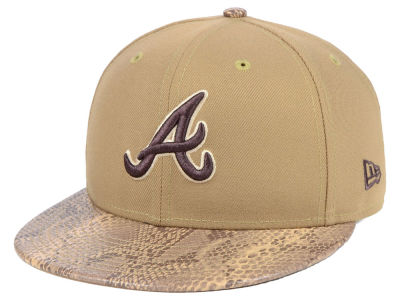 Atlanta Braves New Era MLB Snakeskin Sleek 59FIFTY Cap
