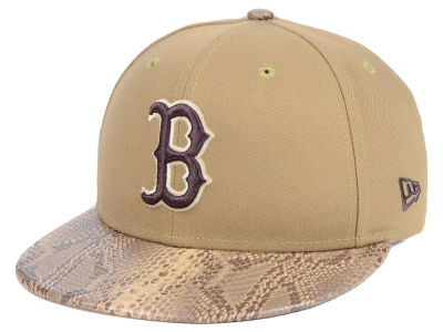 Boston Red Sox New Era MLB Snakeskin Sleek 59FIFTY Cap