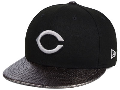 Cincinnati Reds New Era MLB Snakeskin Sleek 59FIFTY Cap