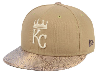 Kansas City Royals New Era MLB Snakeskin Sleek 59FIFTY Cap