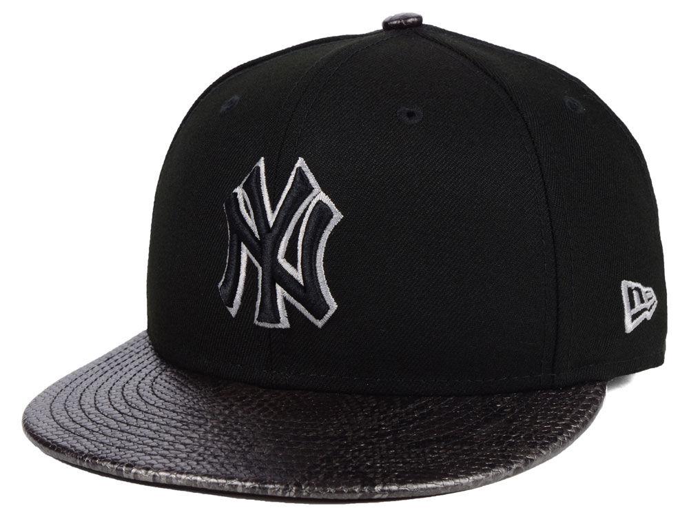 b81c336e50a New York Yankees New Era MLB Snakeskin Sleek 59FIFTY Cap
