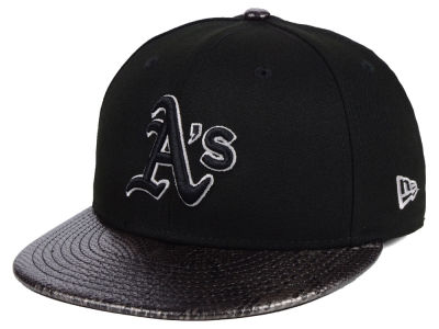 Oakland Athletics New Era MLB Snakeskin Sleek 59FIFTY Cap