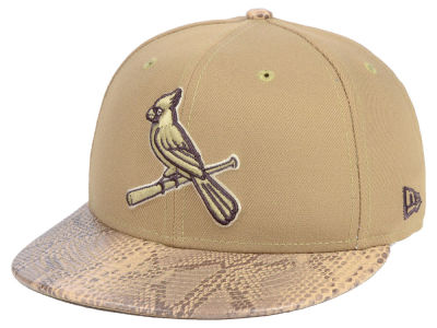 St. Louis Cardinals New Era MLB Snakeskin Sleek 59FIFTY Cap