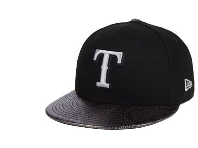 Texas Rangers New Era MLB Snakeskin Sleek 59FIFTY Cap