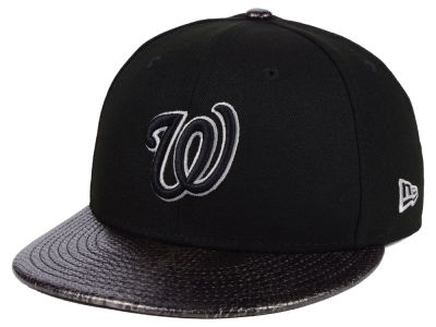Washington Nationals New Era MLB Snakeskin Sleek 59FIFTY Cap