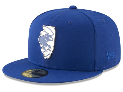 Chicago Cubs New Era MLB Gold Stated 59FIFTY Cap