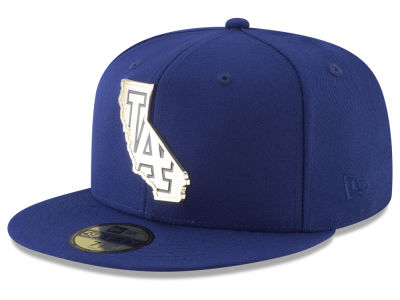 Los Angeles Dodgers New Era MLB Gold Stated 59FIFTY Cap