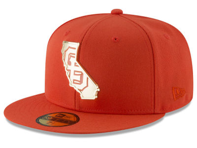 San Francisco Giants New Era MLB Gold Stated 59FIFTY Cap