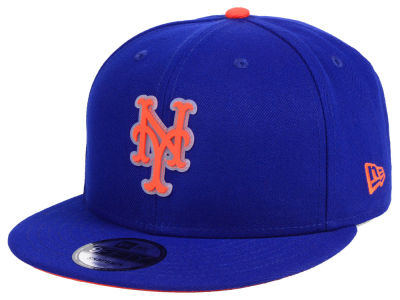 New York Mets New Era MLB Team Cleared 9FIFTY Snapback Cap