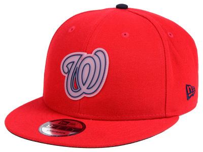 Washington Nationals New Era MLB Team Cleared 9FIFTY Snapback Cap