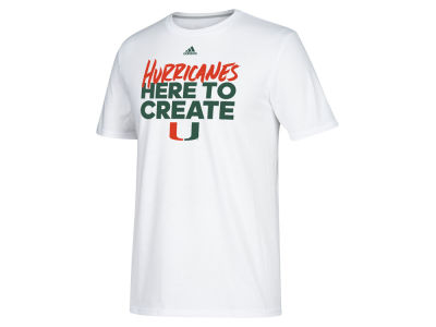 Miami Hurricanes adidas 2018 NCAA Men's Selection Sunday T-Shirt