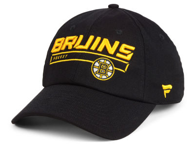 Boston Bruins NHL Rinkside Fundamental Adjustable Cap