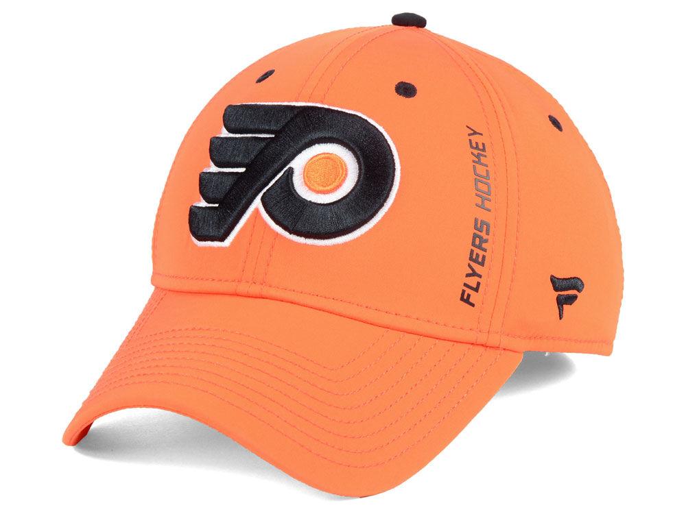 Philadelphia Flyers NHL Authentic Rinkside Flex Cap  1343e29cca52