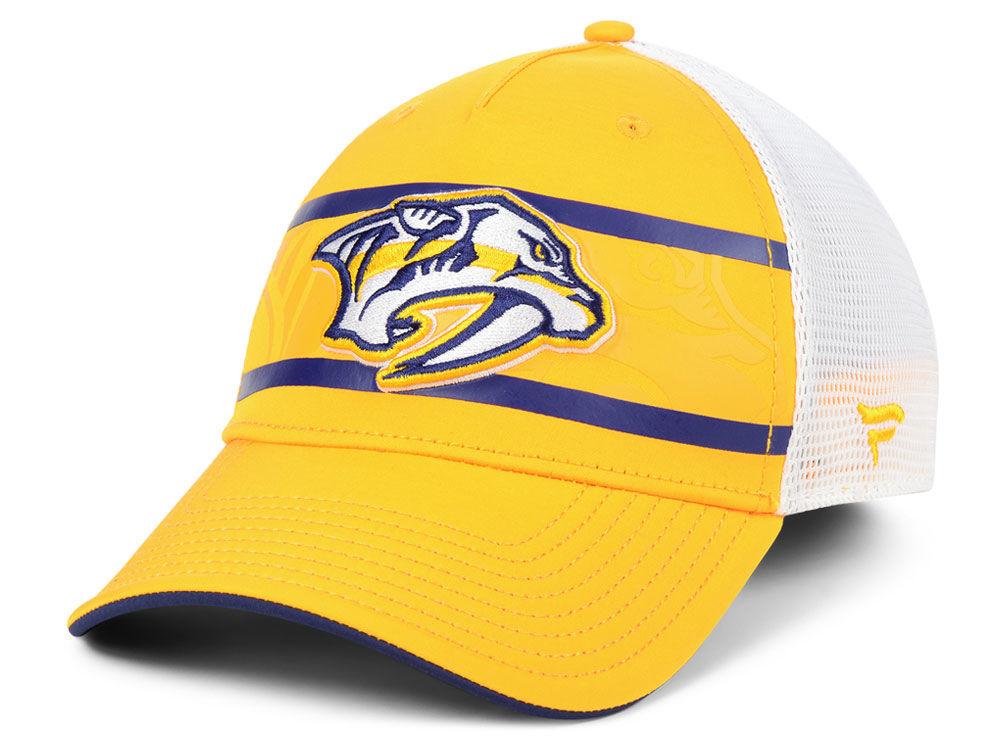 4623d212073 Nashville Predators NHL 2nd Season Trucker Adjustable Cap