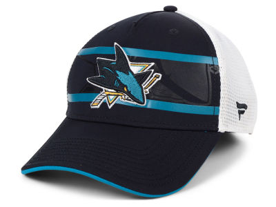 San Jose Sharks NHL 2nd Season Trucker  Adjustable Cap