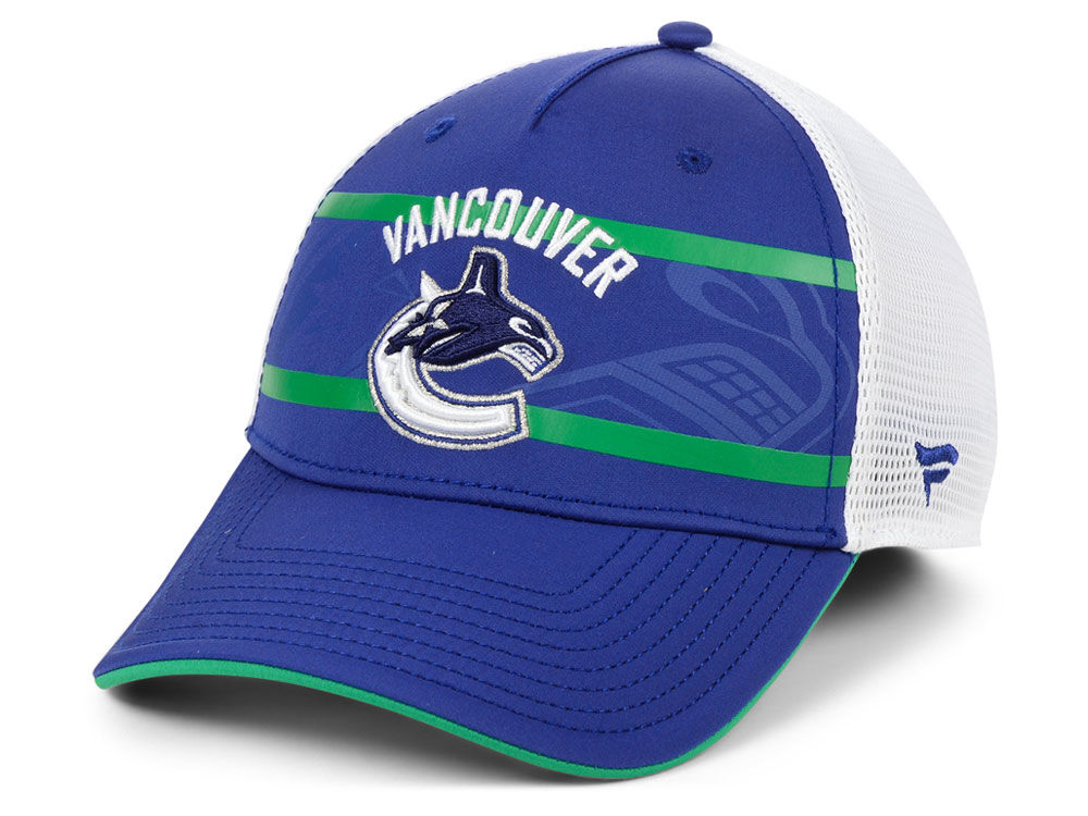 Vancouver Canucks NHL Branded NHL 2nd Season Trucker Adjustable Cap ... 3f166a991d6a