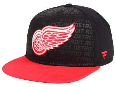 Detroit Red Wings NHL Rinkside Snapback Cap