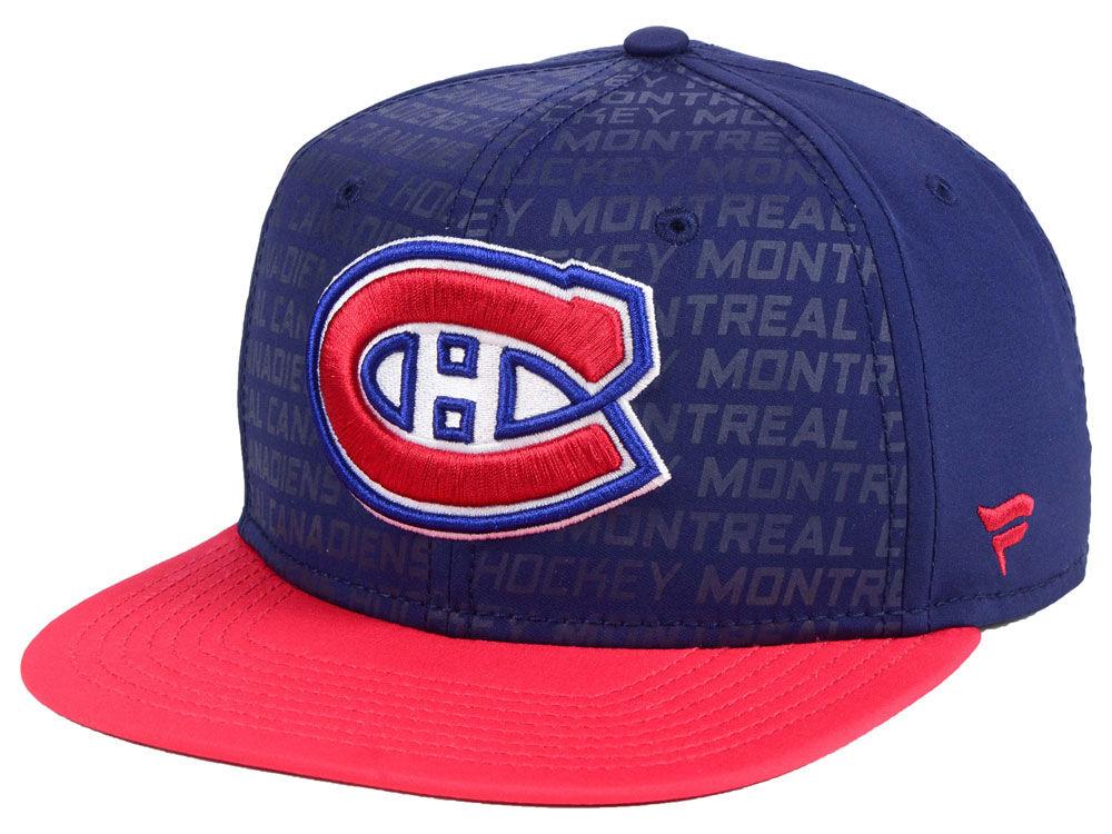 50616dcc77c Montreal Canadiens NHL Rinkside Snapback Cap