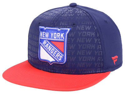 New York Rangers NHL Rinkside Snapback Cap
