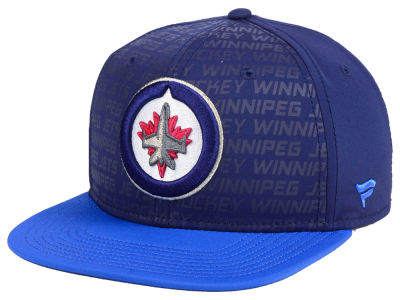 Winnipeg Jets NHL Rinkside Snapback Cap