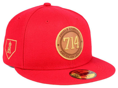 Los Angeles Angels New Era MLB Area Patch 59FIFTY Cap