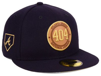 Atlanta Braves New Era MLB Area Patch 59FIFTY Cap
