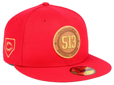 Cincinnati Reds New Era MLB Area Patch 59FIFTY Cap