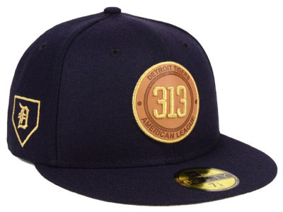 Detroit Tigers New Era MLB Area Patch 59FIFTY Cap