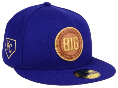 Kansas City Royals New Era MLB Area Patch 59FIFTY Cap