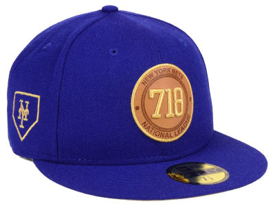 New York Mets New Era MLB Area Patch 59FIFTY Cap
