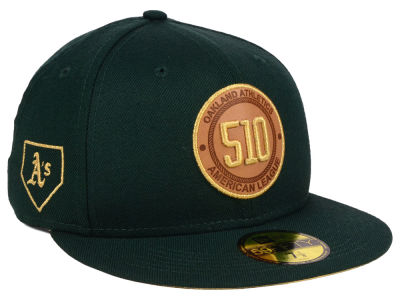 Oakland Athletics New Era MLB Area Patch 59FIFTY Cap