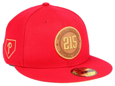 Philadelphia Phillies New Era MLB Area Patch 59FIFTY Cap