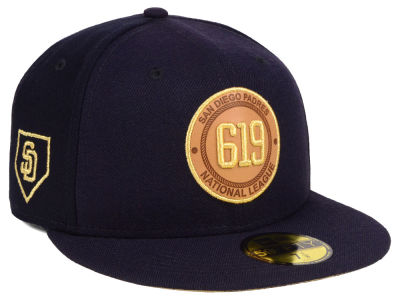San Diego Padres New Era MLB Area Patch 59FIFTY Cap