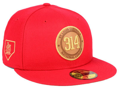 St. Louis Cardinals New Era MLB Area Patch 59FIFTY Cap