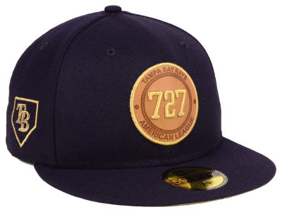 Tampa Bay Rays New Era MLB Area Patch 59FIFTY Cap