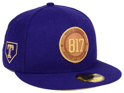 Texas Rangers New Era MLB Area Patch 59FIFTY Cap